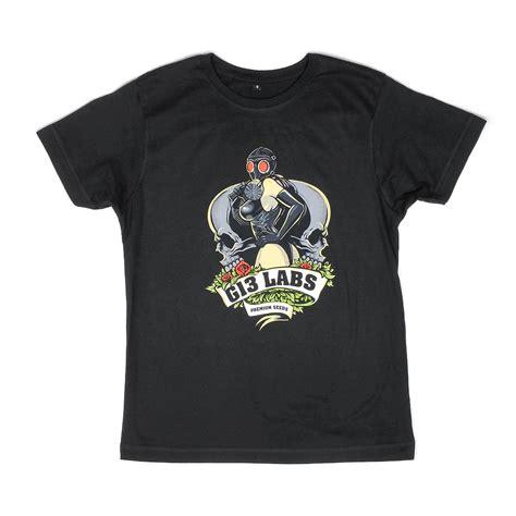 Tshirt G 13 g13 labs gas mask t shirt black