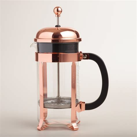 New Kitchen Furniture by Bodum Chambord Copper 8 Cup French Press Coffee Maker