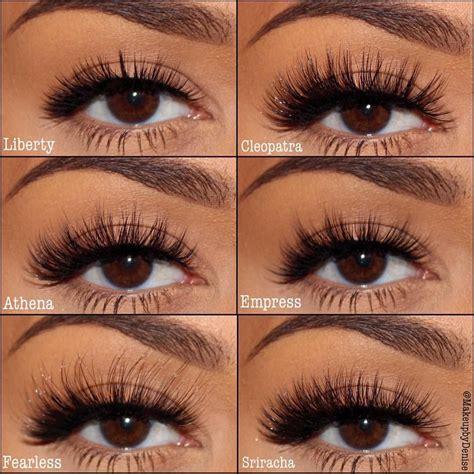 6 Best Eyelashes by Eyer 237 S False Eye Lashes Liberty Cleopatra Athena