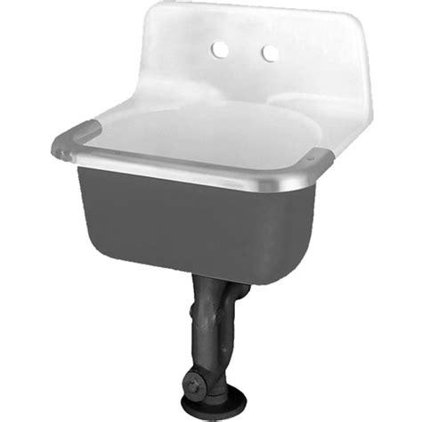 standard service sink standard 7695 008 020 akron enameled cast iron