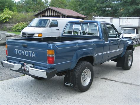 1988 Toyota For Sale Blue 1988 Toyota Cab Auto 4wd Clean