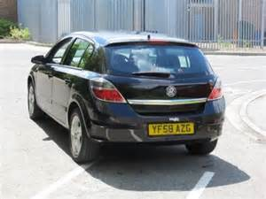 Vauxhall Astra Used Cars For Sale Used Vauxhall Astra 2009 Petrol Black Automatic For Sale