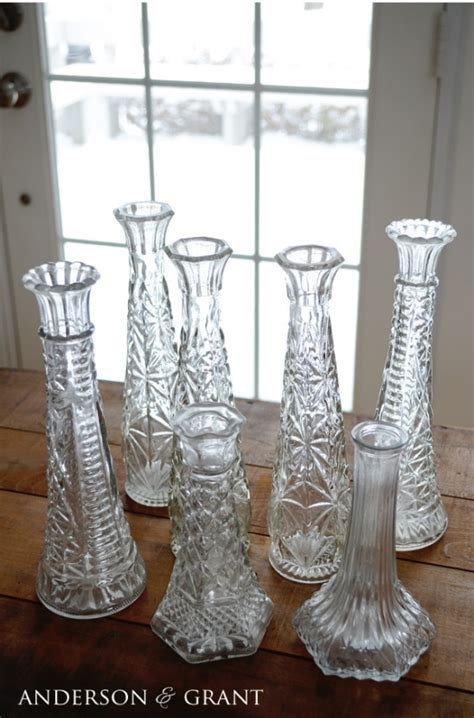 diy chalk paint vases diy distressed glass candlesticks by project