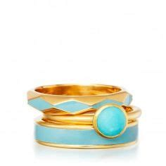 Stcking Ring Duck stacking rings on gemstone jewelry jewellery and enamels