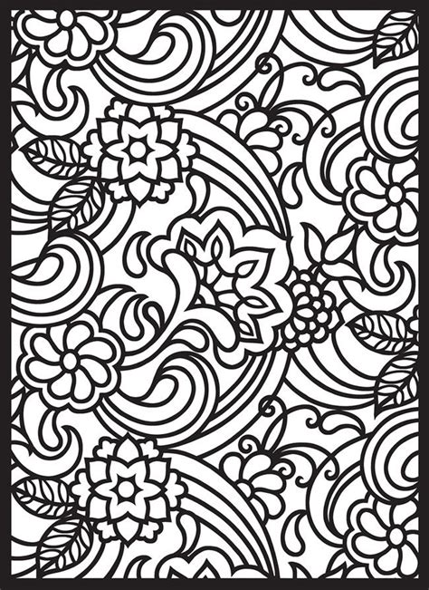 coloring design pages printables free printable stained glass design coloring pages