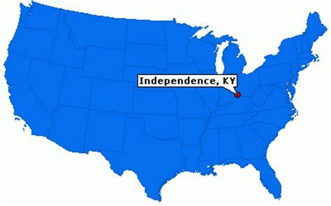 independence kentucky map independence kentucky city information epodunk