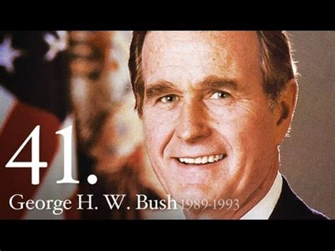 george w bush president 41 41 george hw bush youtube