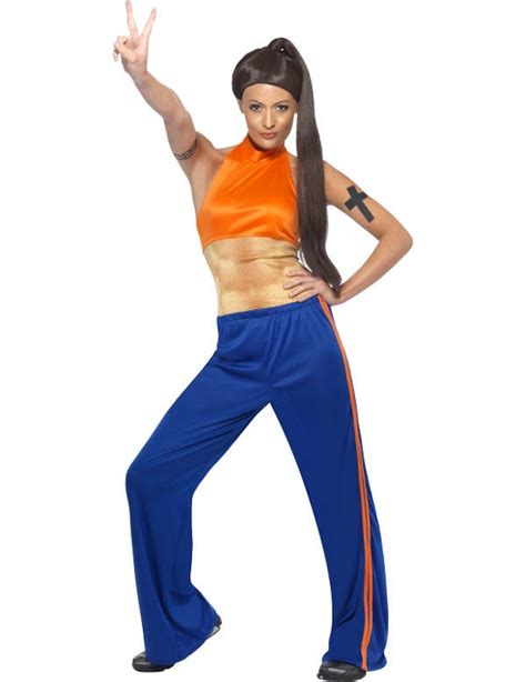 Spice New Costumes Em Or Em by Spice Sporty Spice Fancy Dress Costume Ebay