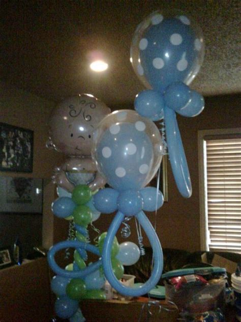 Baby Shower Sculptures by Baby Shower Decorations For Boy Balloon Sculpture It S A