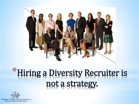 Diversity Recruiter by Every Recruiter Should Be A Diversity Recruiter