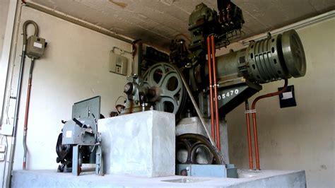 elevator room machine room tour vintage schindler r series traction elevator via nassa 66 lugano