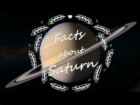 interesting information about saturn facts about saturn buzzpls