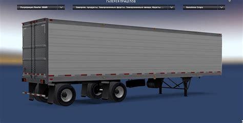 spread axle reefer ats trailer ats mod american truck simulator mod