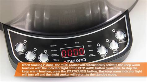 electric multi cooker youtube