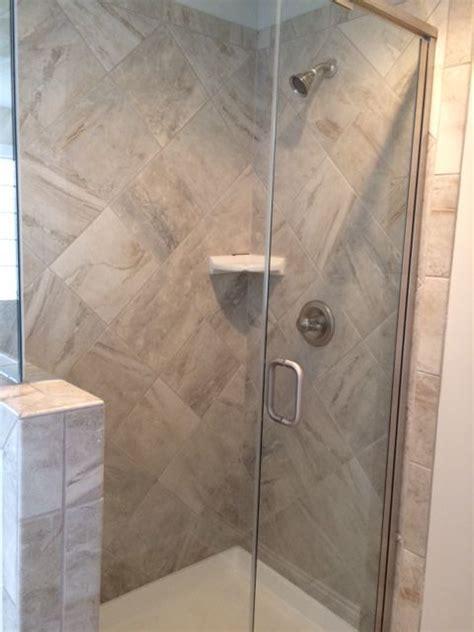 Guest Suite Shower. AO Danya Stream Tile.   Bathrooms