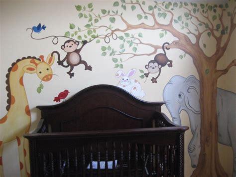 Jungle Decor For Nursery Jungle Themed Nursery