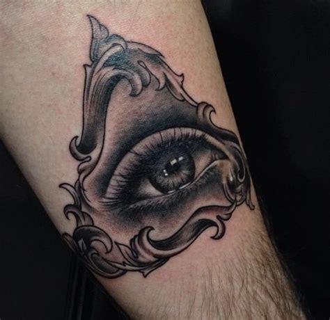8 triangle eye tattoos on chest eye and triangle tattoos i like pinterest triangles
