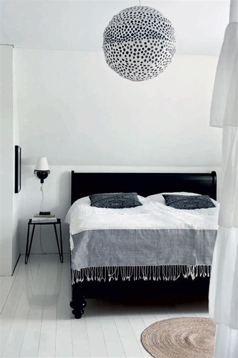 black  white  farmhouse  swedish house design  decor