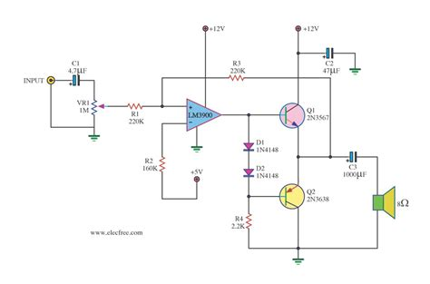 transistor mini lifier gt circuits gt mini audio lifier circuit l40859 next gr