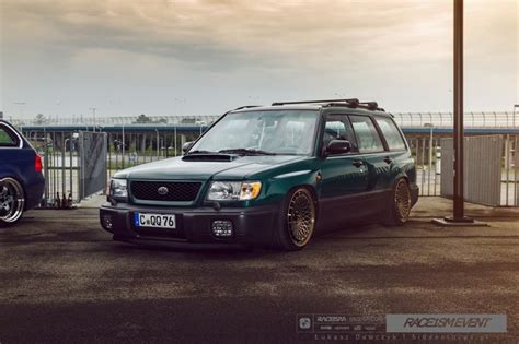 subaru forester slammed german subaru forester on rotiform s cars pinterest