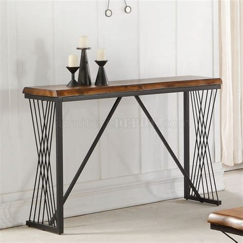Callum Coffee Table Coffee Table 82880 In Antique Oak Black By Acme Mandala Coffee