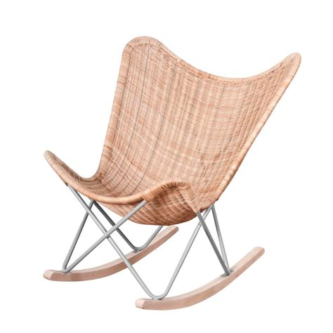 Narrow Rocking Chair by Rocking Chair In Wicker By Out There Interiors Notonthehighstreet