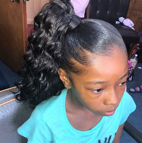 15 of the cutest ponytail hairstyles for little black girls