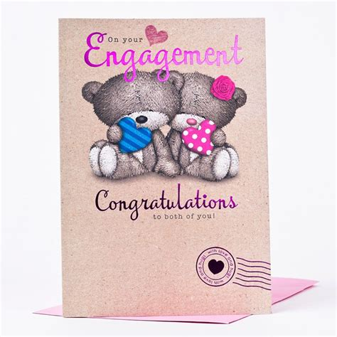 how to make engagement cards hugs engagement card congratulations only 89p