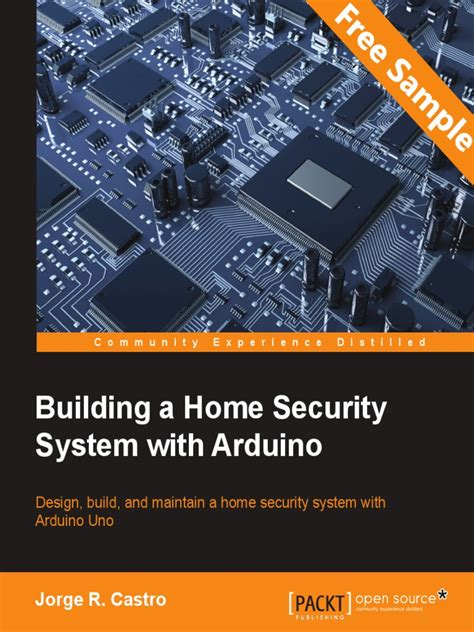 building a home security system with arduino sle