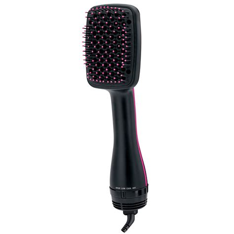 Revlon One Step Hair Dryer And Styler Brush by Revlon One Step Paddle Brush Hair Dryer And Styler