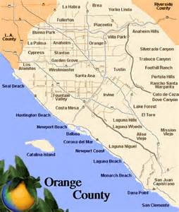 where is orange county california on map welcome to living oc