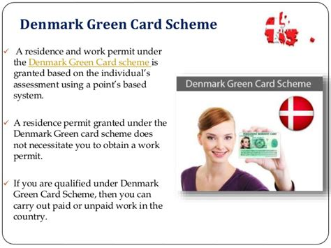 Work Permit After Mba In Denmark by Denmark Immigration Green Card Syncvisas