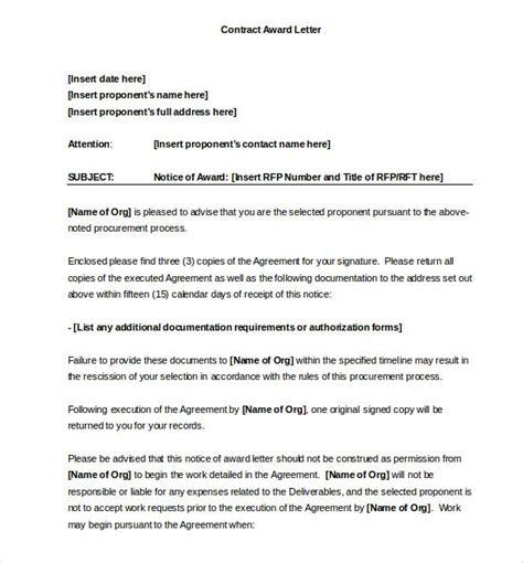 award letter templates premium