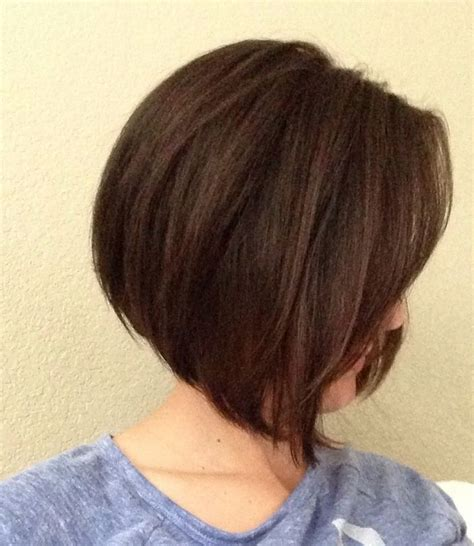 pictures of a line haircuts with bangs a line short bob haircut with bangs full dose
