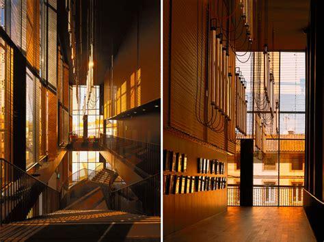designboom theatre dominique perrault dresses albi grand theatre with copper