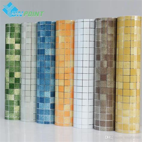 Wallpaper Sticker Wall Paper Stiker Kertas Dekor 45cm X 5 M D813 kitchen wall sticker pvc mosaic tile wallpaper bathroom