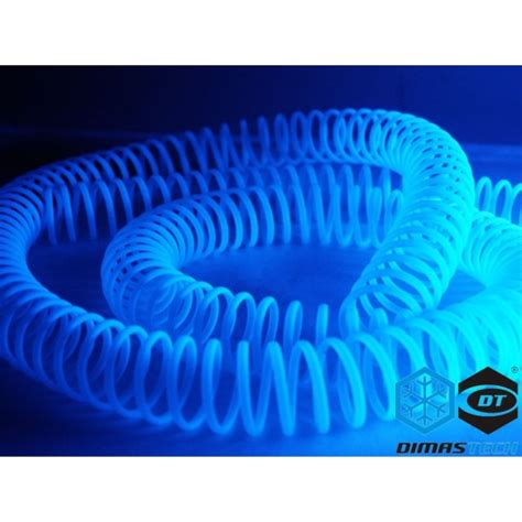 Plastik Uv 14 plastic spiral blue uv reactive 14 mm id