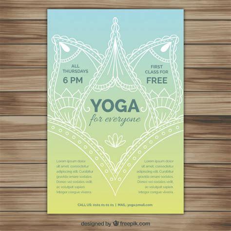 flyer design yoga 12 motivational yoga flyer designs design trends