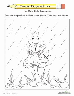 diagonal line pattern generator tracing diagonal lines complete the frog prince