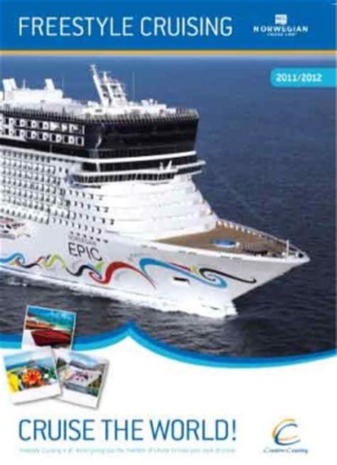 norwegian cruise brochure creative cruising and norwegian cruise line travel daily