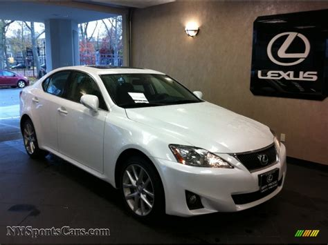 white lexus 2011 2011 lexus is 250 awd in starfire white pearl 051431