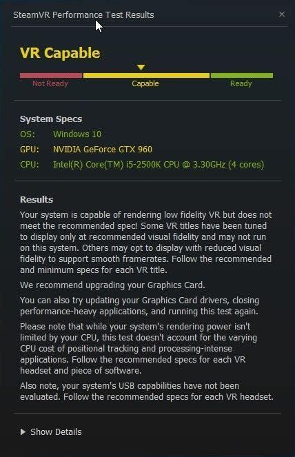 Vr Untuk Pc cara mengecek pc untuk gaming dengan steamvr for guides