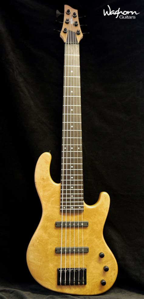 Handcrafted Bass Guitars - waghorn guitars custom bass guitars gallery