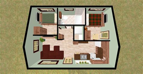 two bedroom home plans cozy home plans part 2