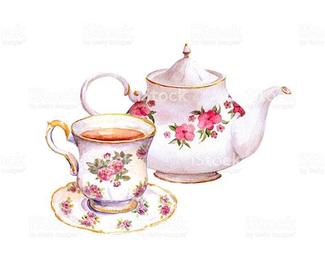 Teapot And The tea cup clipart teapot pencil and in color tea cup
