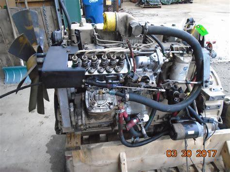 engine cummins bt   volt oem engine complete good runner yw cpl