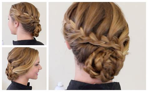 formal hairstyles updos braided braid hairstyles for long hair prom braided formal updo