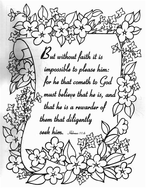 religious quotes coloring pages quotesgram