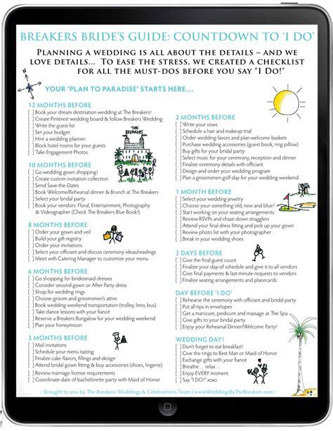 printable wedding countdown checklist wedding advice part 6