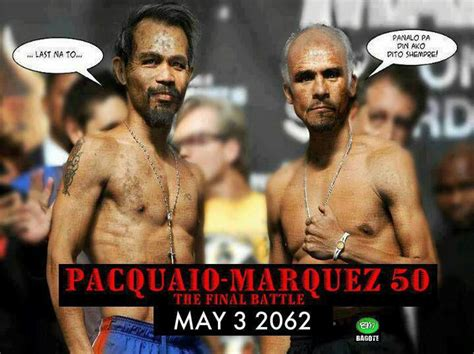 Pacquiao Mayweather Memes - manny pacquiao vs manuel marquez 50th rematch manny